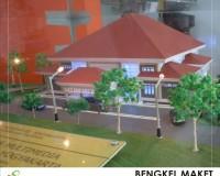 18. maket perpustakaan dan multimedia, JOGJAKARTA.