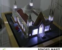 19. maket unit gereja, LAMANDAU.