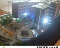 2. maket gedung fisipol UIN, CIPUTAT.