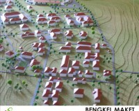 4. maket masterplan universitas nusa cendana, KUPANG.