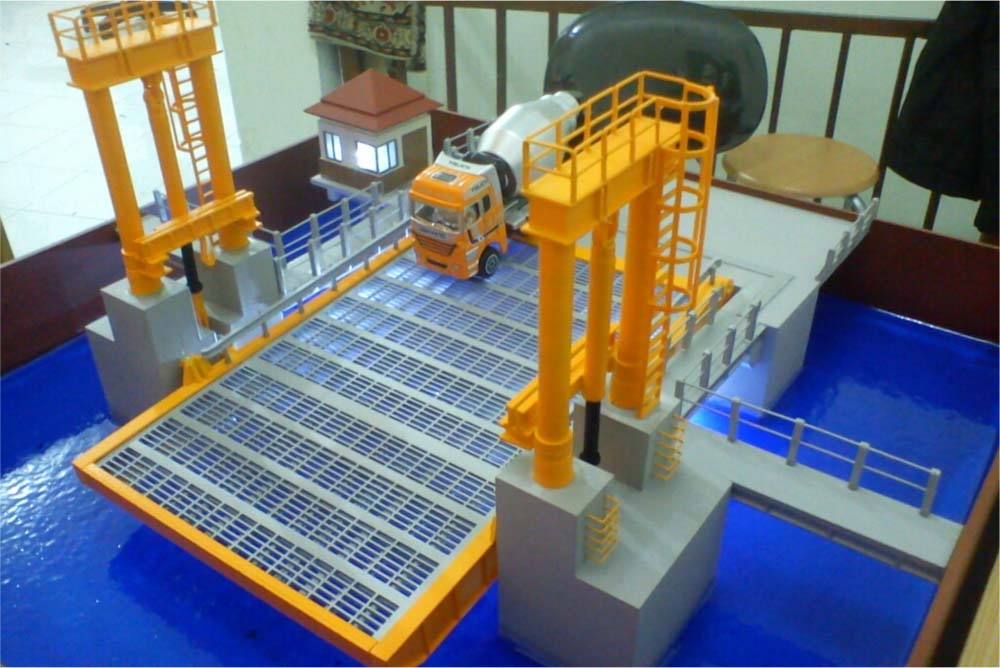 Maket Movable Bridge Pelabuhan Merak