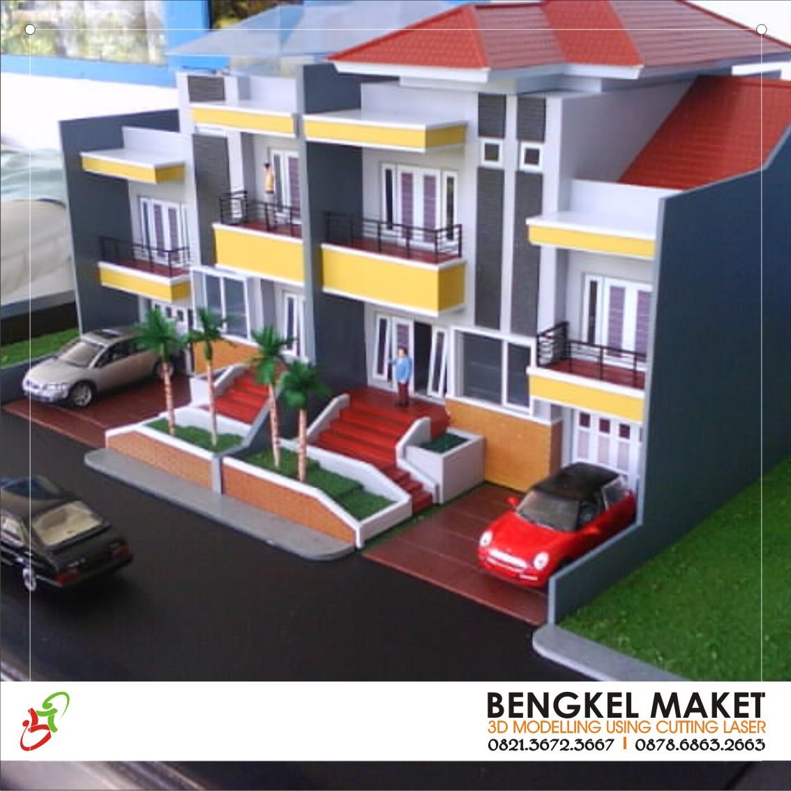 1. maket palm residence, KENDARI.