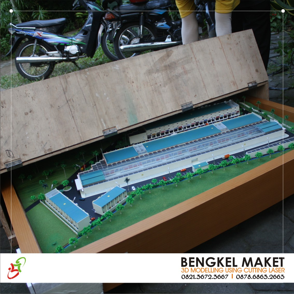 17. packing maket pasar mama, JAMBI.