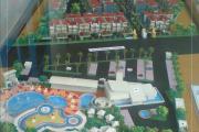 20. maket kawasan palm residence, KENDARI.